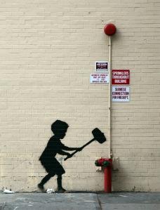 banksy UWS NYC